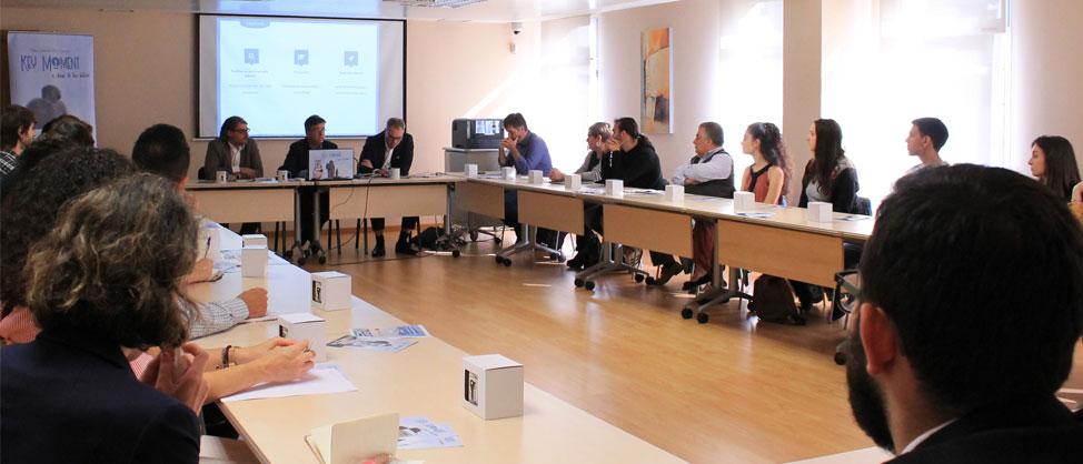 Presentación do Plan laboral CEC Coruña